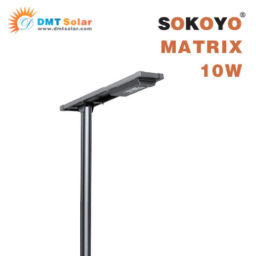 Đèn năng lượng mặt trời SOKOYO MATRIX 10W liền thể