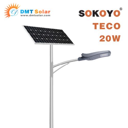Đèn năng lượng mặt trời SOKOYO TECO 20W - All in Two