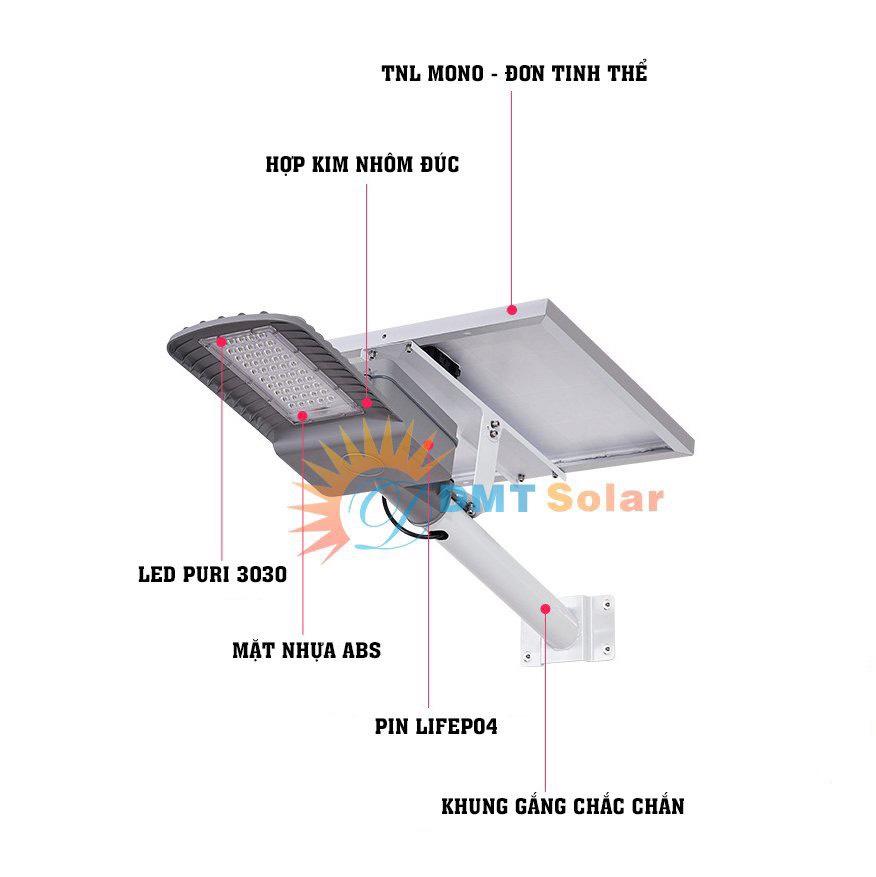 Đèn đường năng lượng mặt trời cho dự án 30W đủ công suất (Mono-LedPuri-MPPT)