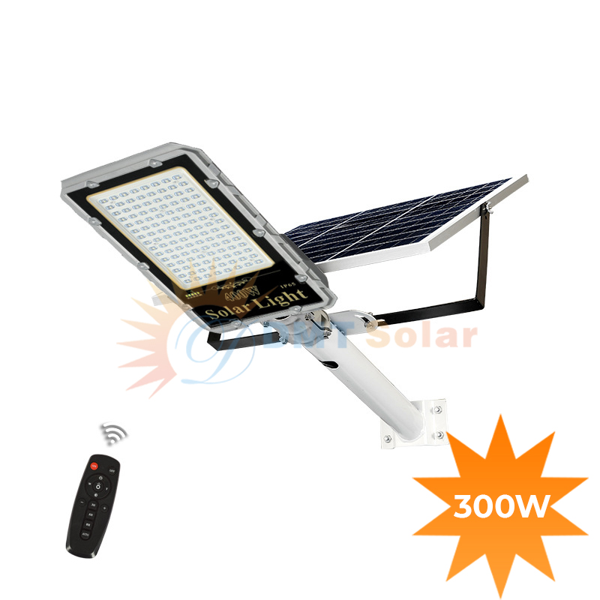 Đèn đường năng lượng mặt trời 300W siêu sáng DMT-D300MDN