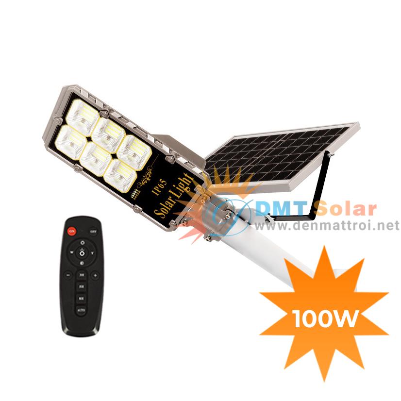 Đèn đường NLMT siêu sáng 100W DMT-D100MN2 (Bản cao cấp)