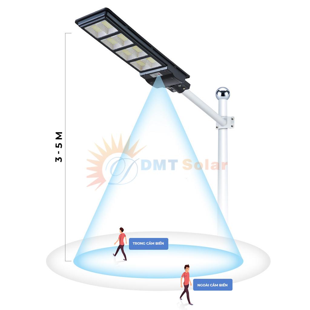 đèn đường năng lượng mặt trời liền thể