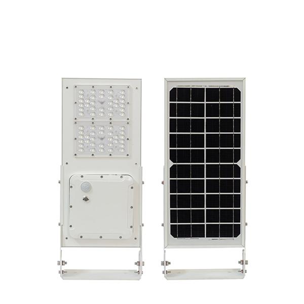 Đèn đường năng lượng mặt trời liền thể cao cấp 15W (Mono - Double MPPT)