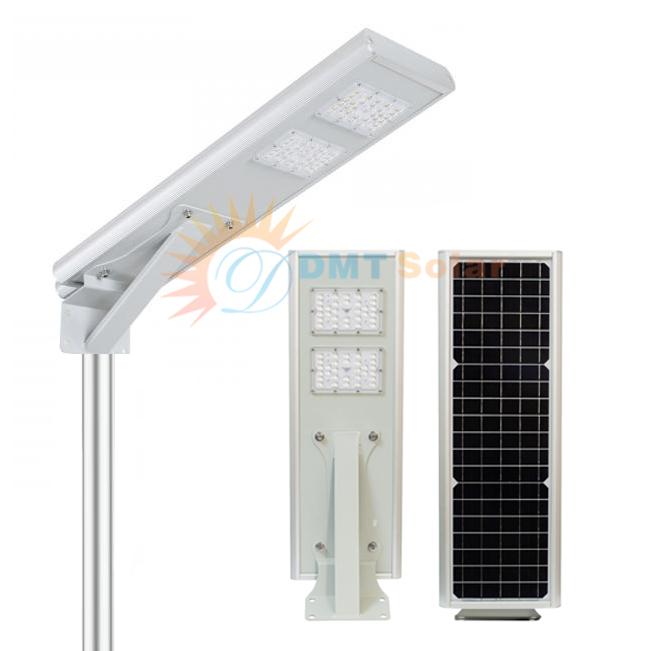 Đèn đường năng lượng mặt trời liền thể 15W DMT-VK300A [Mono - MPPT]