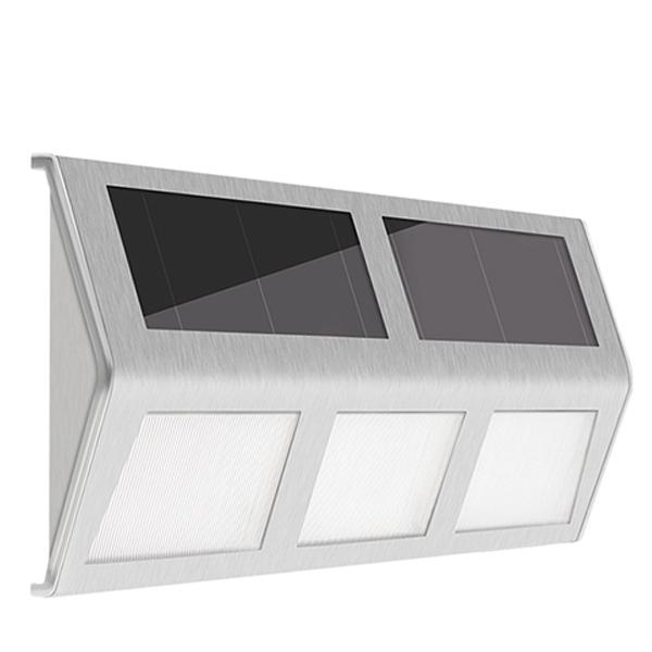 Đèn LED gắn tường năng lượng mặt trời nhôm DMT-TT01T