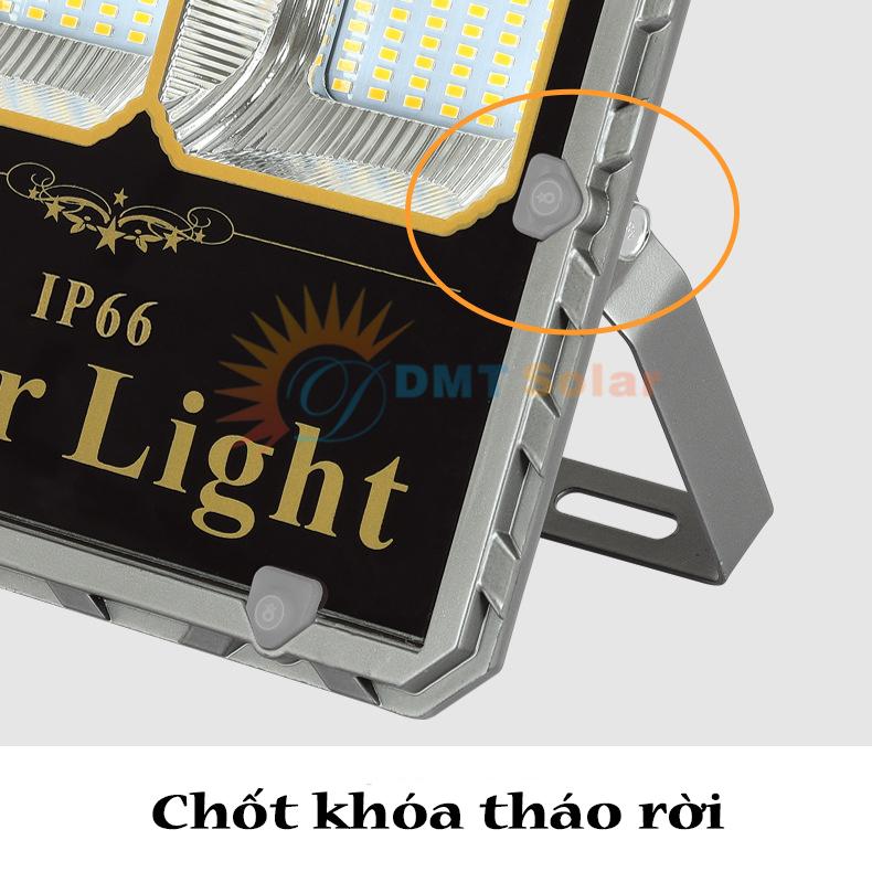 chốt khóa tháo rời của đèn pha năng lượng mặt trời