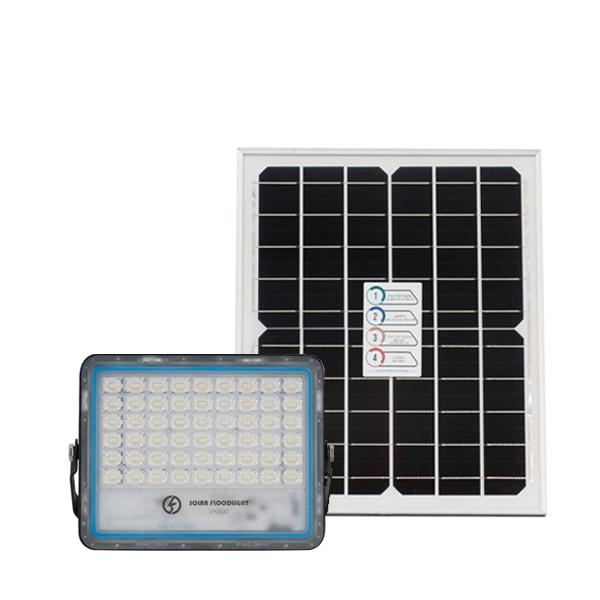 Đèn pha năng lượng mặt trời chống chói trong nhà 40W