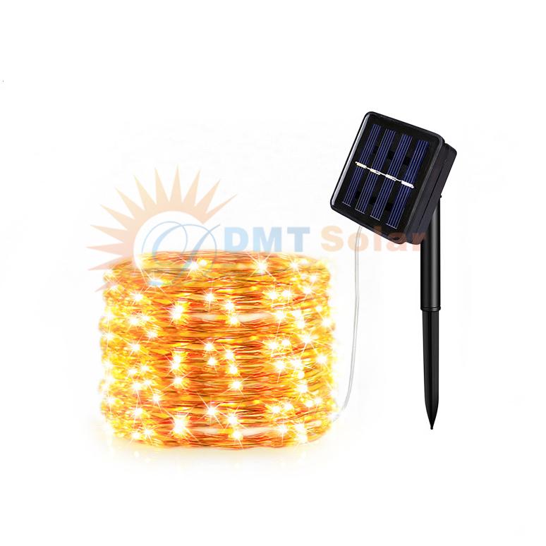 Đèn Led dây năng lượng mặt trời trang trí sân vườn