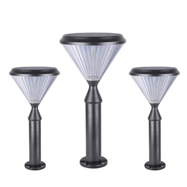 Đèn trụ năng lượng mặt trời sân vườn DMT-TS07D
