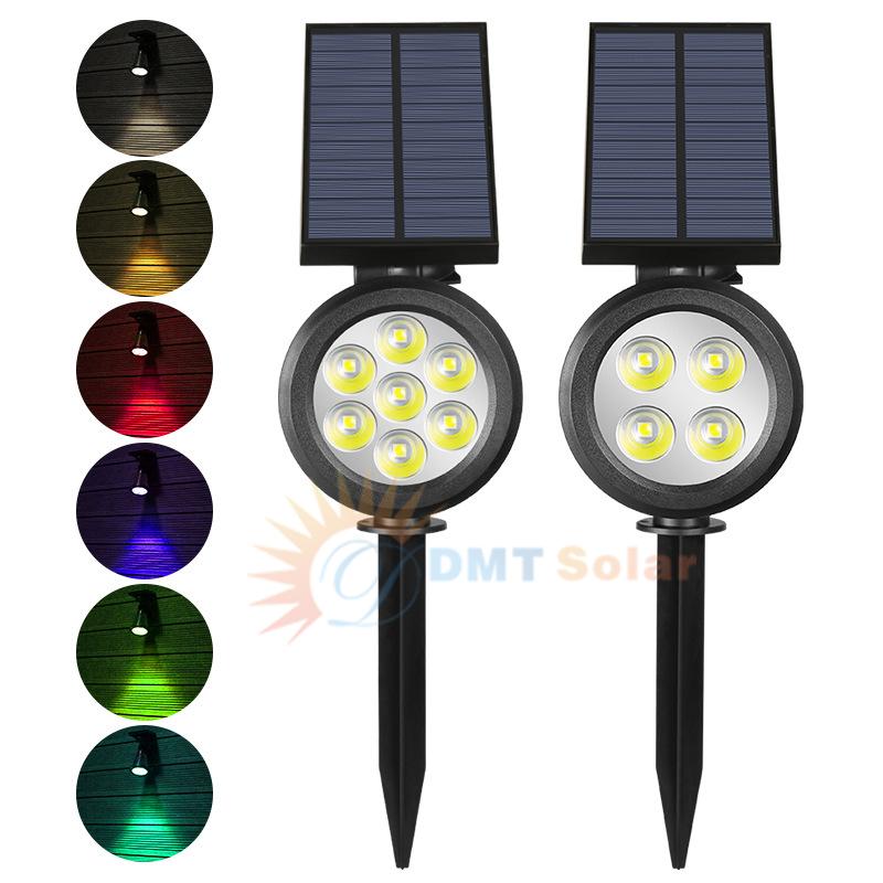 Đèn rọi tiểu cảnh sân vườn năng lượng mặt trời DMT-RC07A