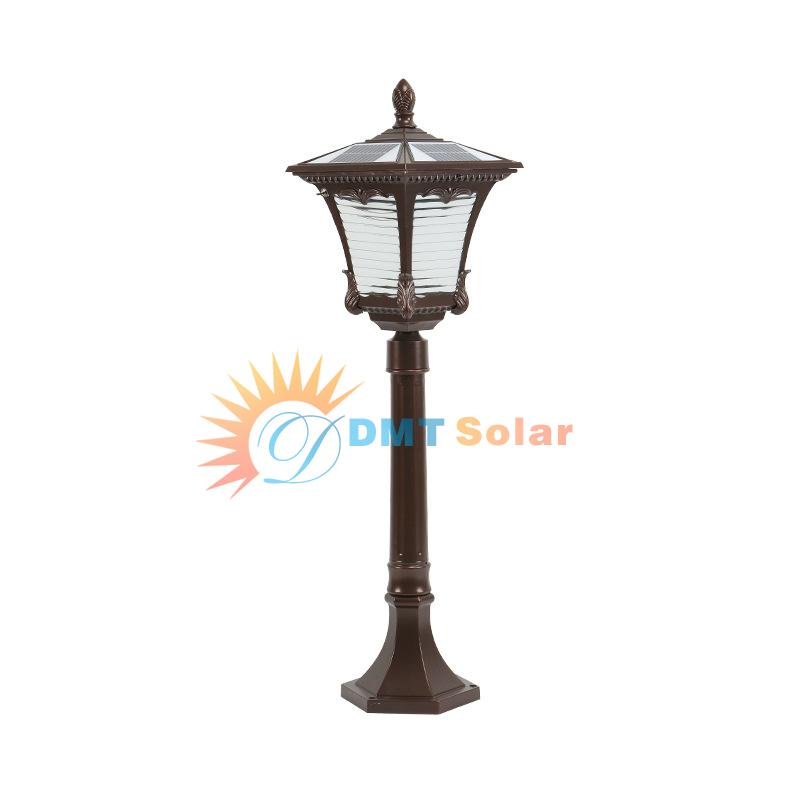 đèn trụ sân vườn năng lượng mặt trời