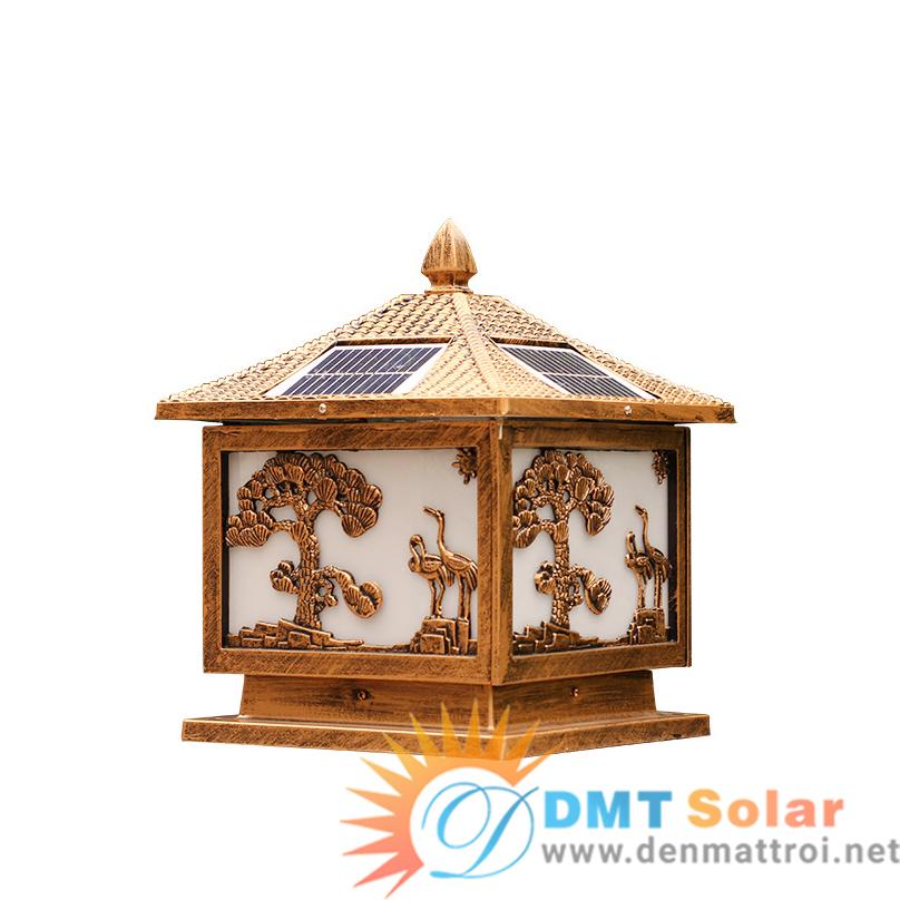 Đèn trụ cổng năng lượng mặt trời DMT-TC07 (Nhiều kích thước)