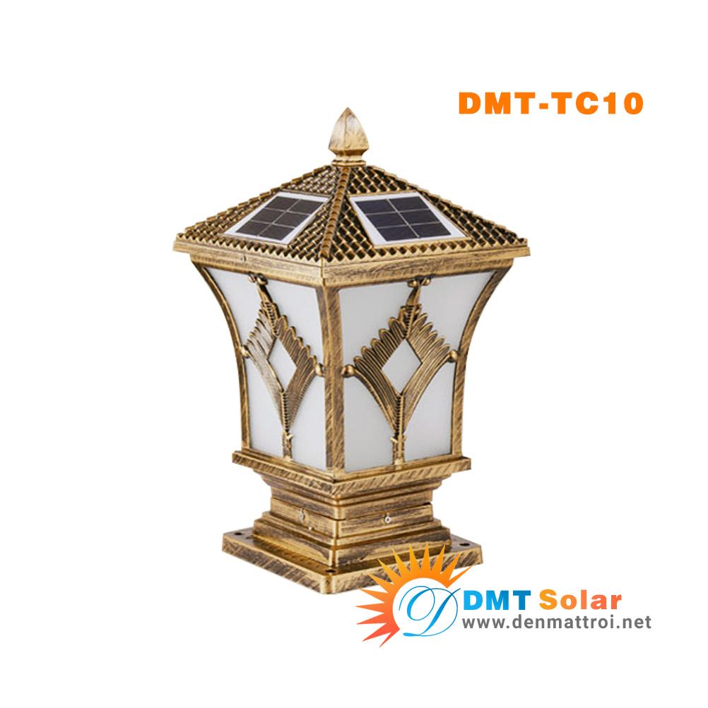 Đèn trụ cổng năng lượng mặt trời DMT-TC10S