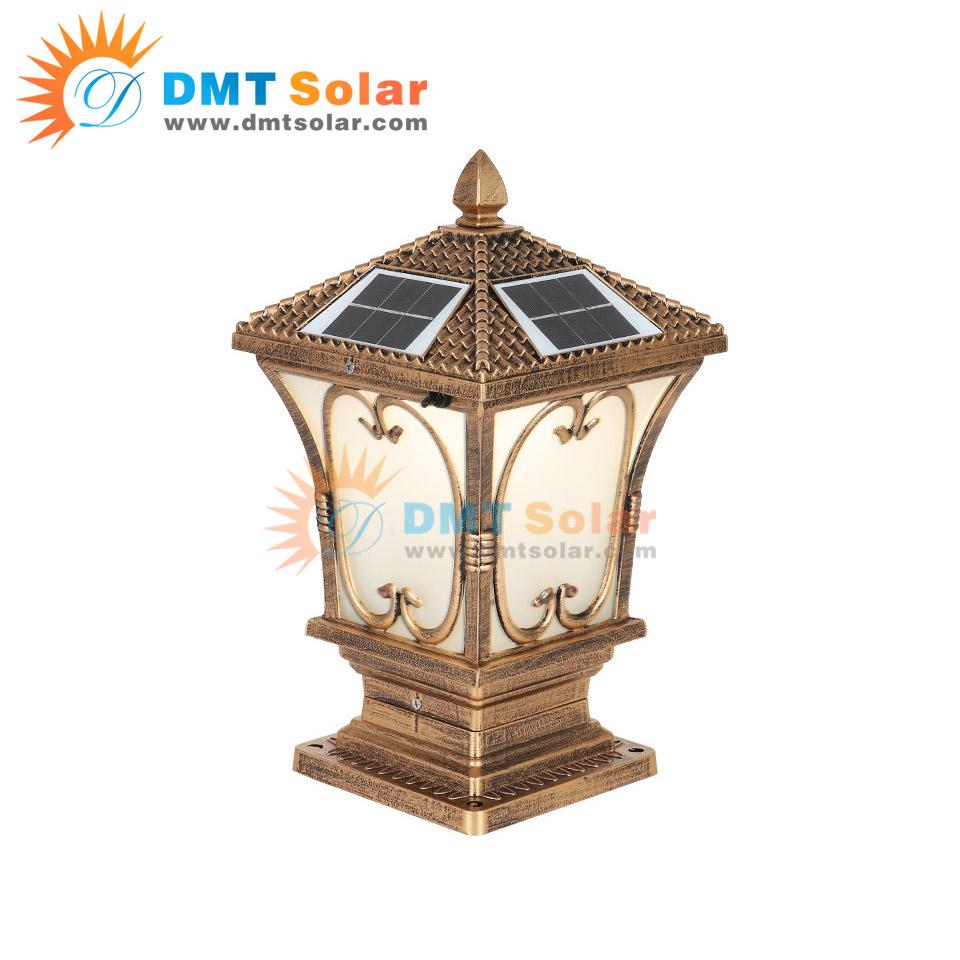 Đèn trụ cổng năng lượng mặt trời giá rẻ DMT-TC11M