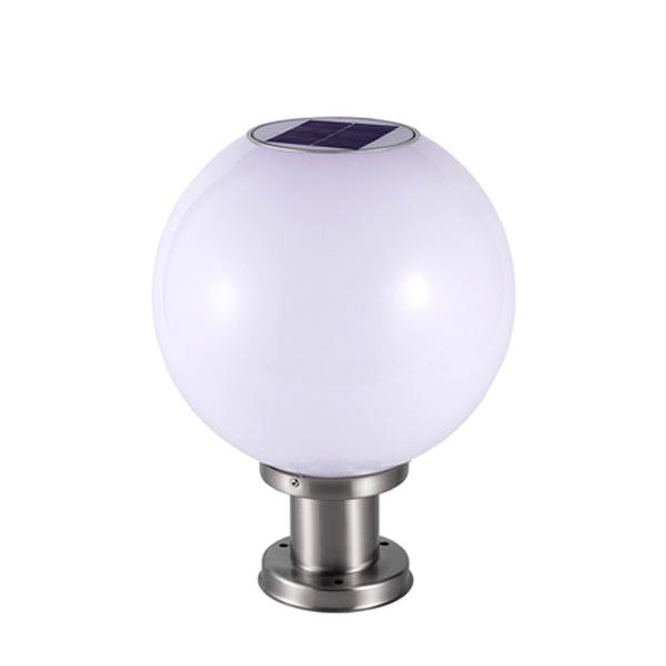 Đèn trụ cổng tròn năng lượng mặt trời DMT-TC02L (35x35)