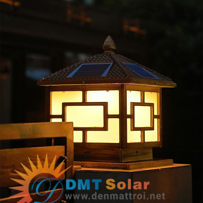 đèn trụ cổng năng lượng mặt trời TC04