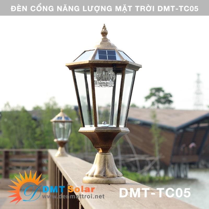 đèn cổng năng lượng mặt trời DMT-TC02