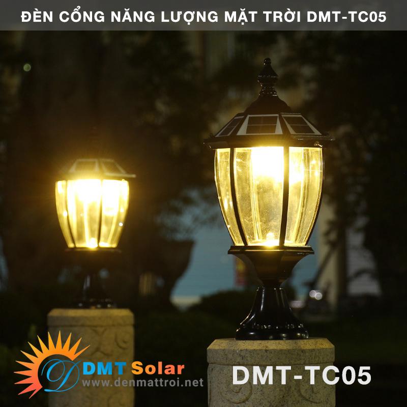 đèn cổng chạy bằng năng lượng mặt trời