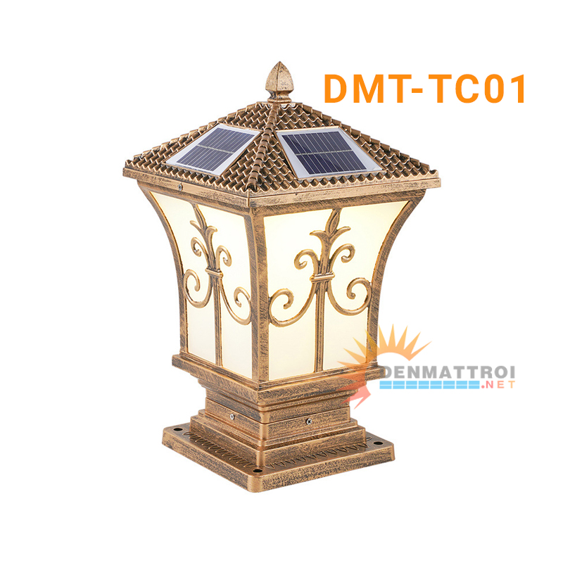 Đèn trụ cổng năng lượng mặt trời DMT-TC01S
