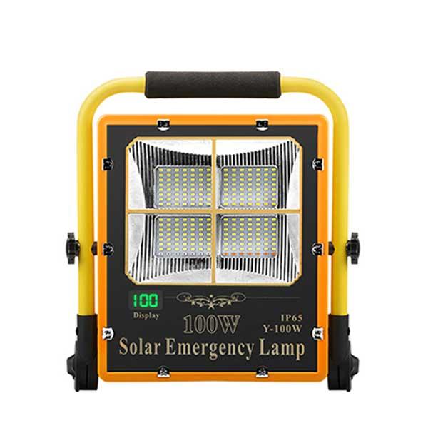 Đèn khẩn cấp năng lượng mặt trời 100W DMT-KC100Y (USB)