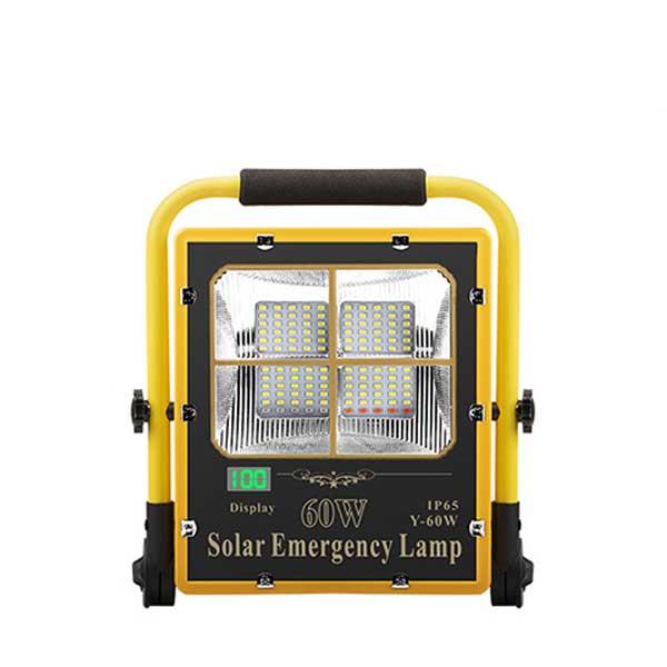 Đèn khẩn cấp năng lượng mặt trời 60W DMT-KC60Y (USB)