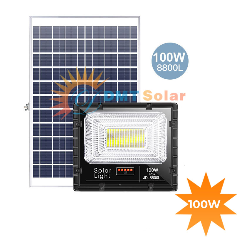 Đèn năng lượng mặt trời siêu sáng 100W JD-8800L