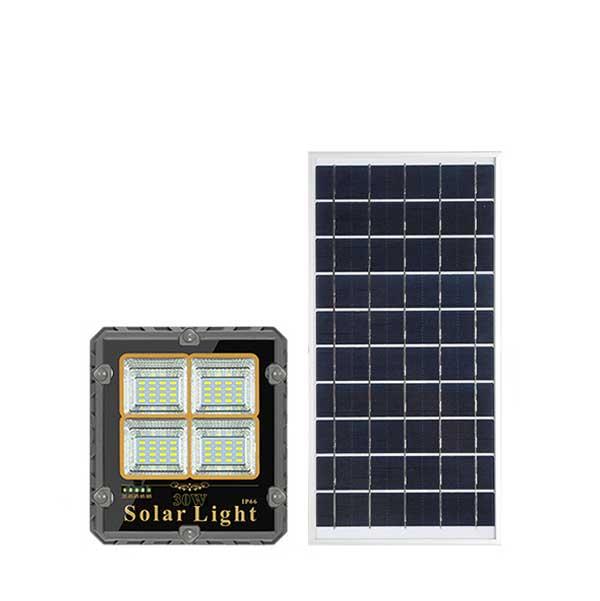 Đèn pha năng lượng mặt trời 30W DMT-P30TR