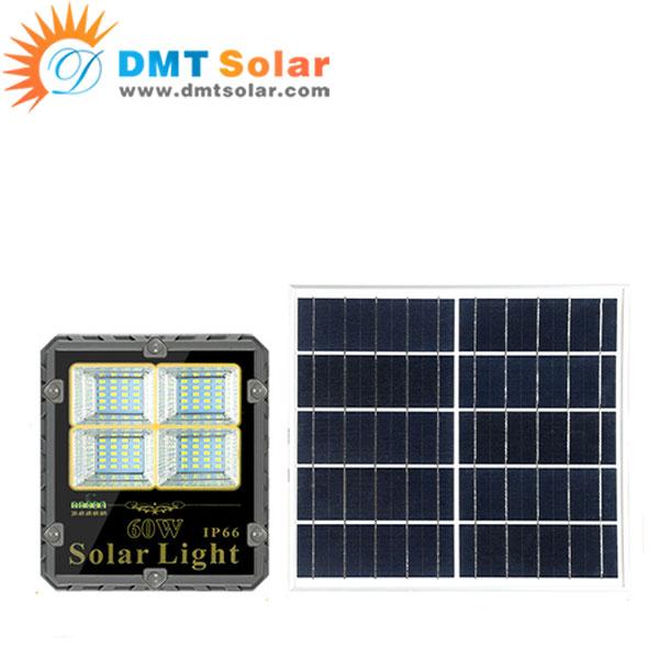 Đèn pha năng lượng mặt trời 60W DMT-P60TR