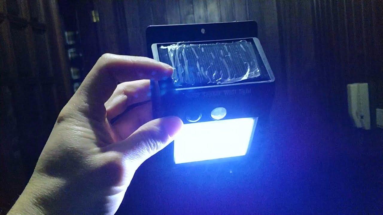 LED solar lighr
